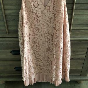 Bcbgeneration dress 2 layers, lace